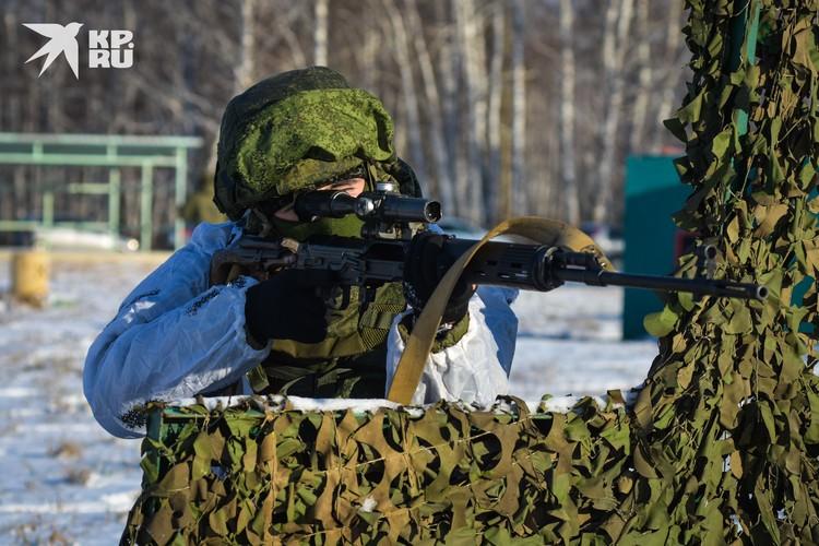 На стрельбище полигона можно отработать максимум стрелковых упражнений.