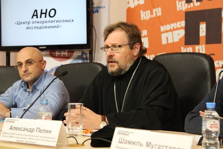 Председатель ОВЦО Санкт-Петербургской епархии, протоиерей Александр Пелин.