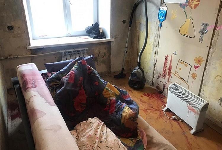Квартира, в которой произошла бойня. Фото: СУ СКР по Свердловской области