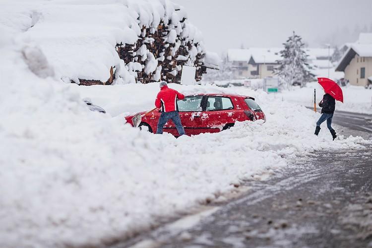 """Для Европы """"Ла Нинья"""" оборачивается зимой с большим количеством осадков."""
