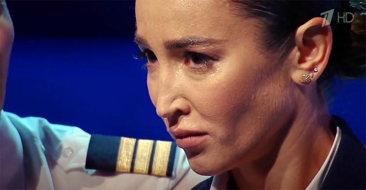 Ольга не смогла сдержать эмоции и разрыдалась
