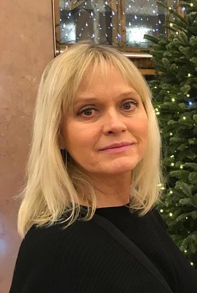 Актриса, драматург Елена Скороходова