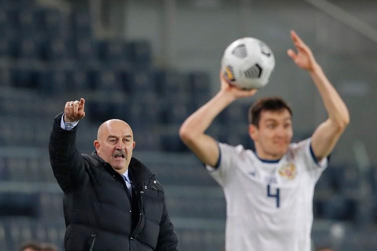 Главный тренер сборной России остался доволен, как его команда начала игру