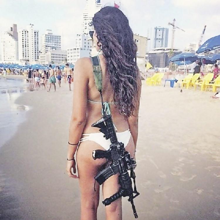 33 процента личного состава израильской армии - женщины.