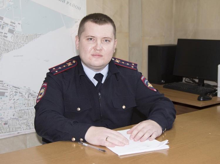 Участковый пришел работать в органы в 2016 году. Фото: пресс-служба ГУ МВД по Ростовской области