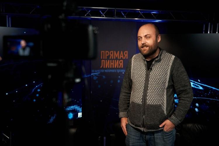 Петр Шкуматов, координатор движения «Общество синих ведерок»