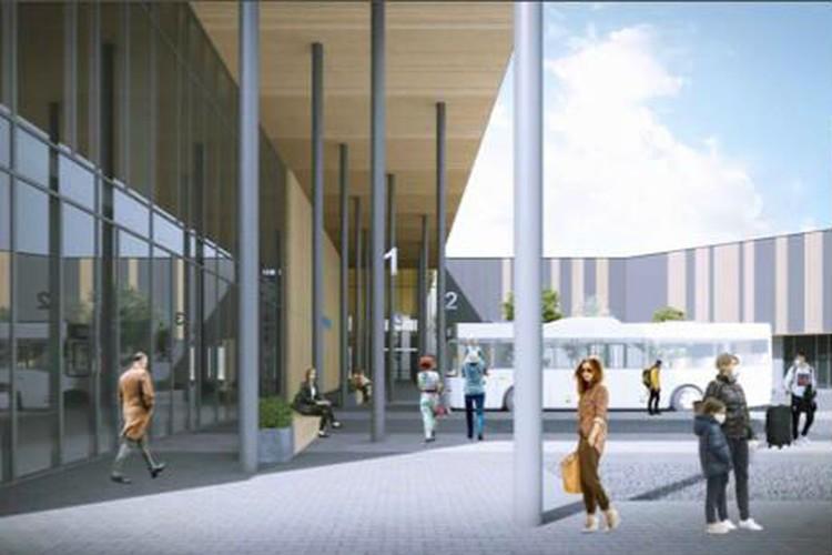 Он будет не похож ни на один имеющийся автовокзал в Челябинске. Фото: предоставлено ООО «Служба организация движения»