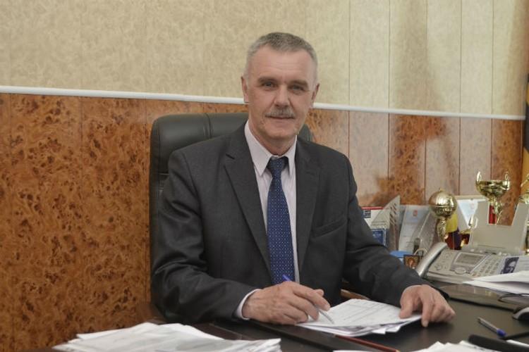 Глава Борисоглебского района Владимир Попов. ФОТО: Елена ВЗДОРОВА
