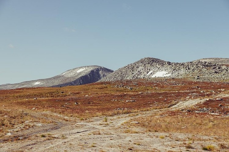Так выглядит территория золоторудного месторождения. Ни растительности, ни привлекательных пейзажей. Фото из архива Михаила ТАРАХТИЯ