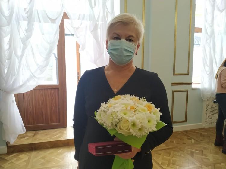 Елена Волкова поблагодарила за высокую оценку труда медиков