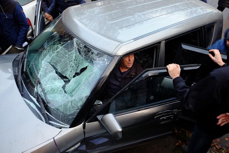 Водитель «взбесившейся» машины после происшествия давал противоречивые показания.