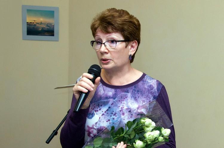 Валентина Глафирова. Фото: ПТО