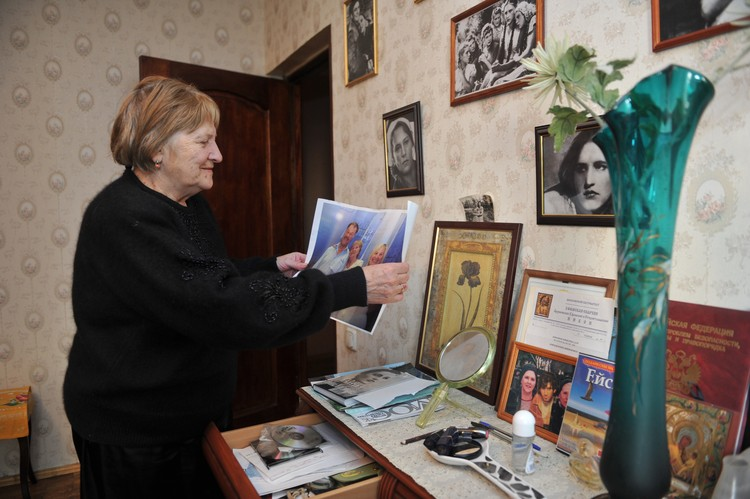 Наталья Викторовна Катаева –самая близкая из сестер Нонны Мордюковой.