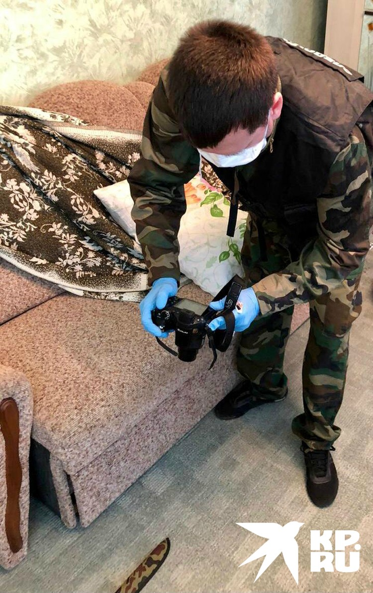 Фото из дома, где произошло убийство. Фото: СУ СК по Краснодарскому краю.