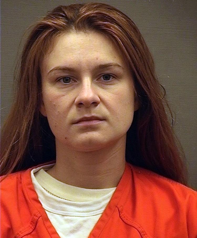 Мария Бутина в американской тюрьме