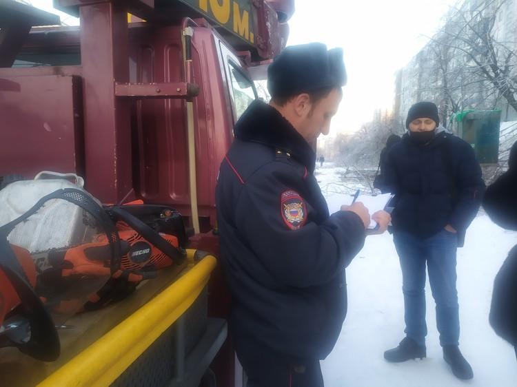 Сотрудник органов внутренних дел принял заявление об очередном нарушении