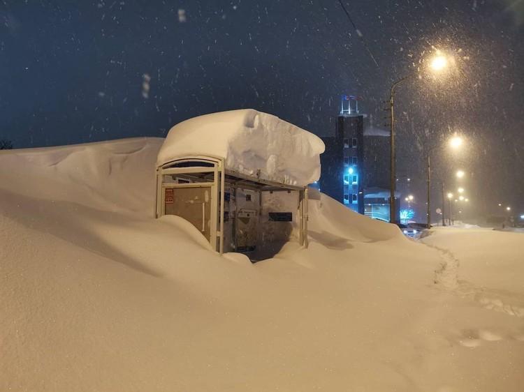 До машин не добраться Фото: Типичный Норильск