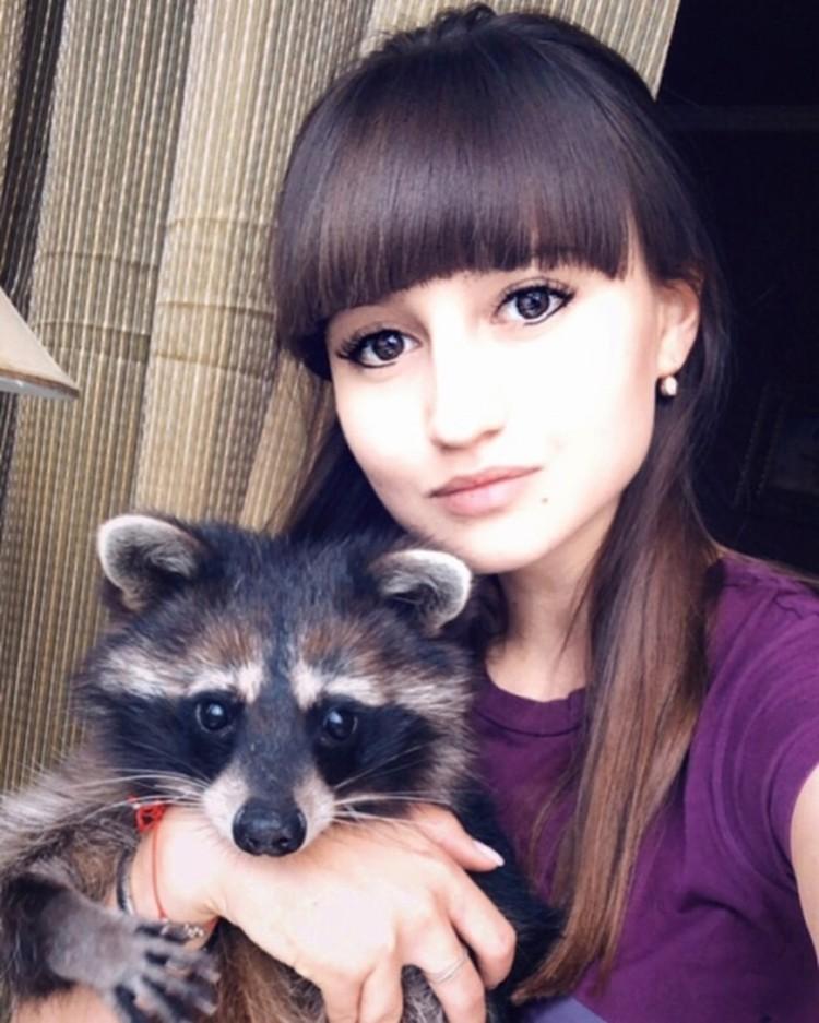 У Юлии Савенко живут очаровательные еноты.