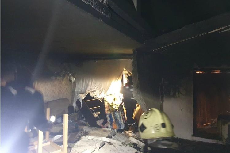 Серьезно пострадали три квартиры. Фото: Администрация Всеволожского района Ленинградской области