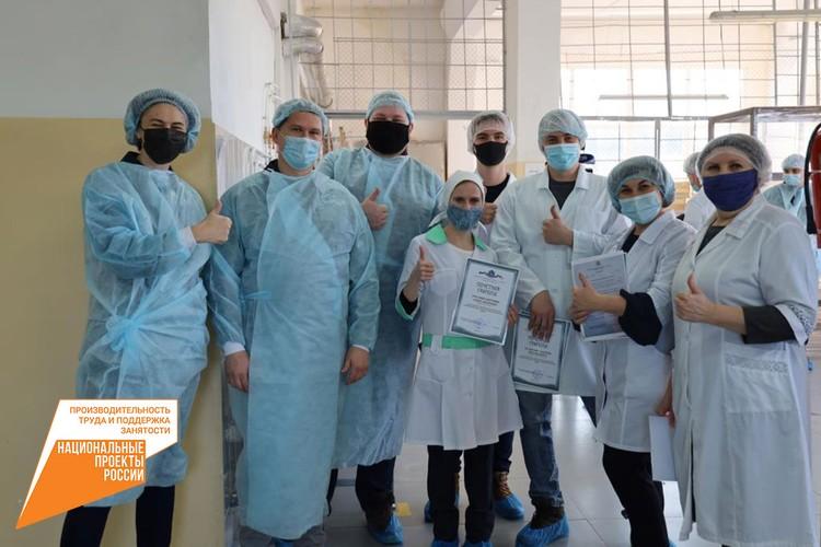 Останавливаться на достигнутых результатах на фабрике не намерены. Фото: Министерство промышленности и торговли Самарской области