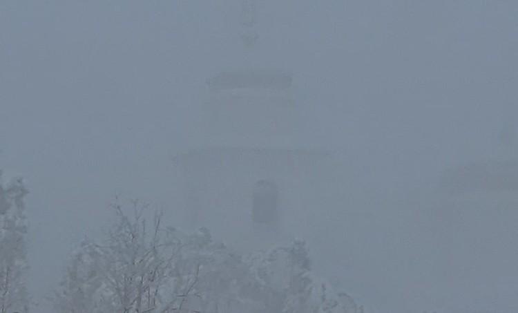В Якутии все в морозной дымке Фото: соцсети
