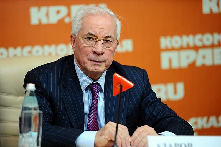 Экс-премьер Украины Николай Азаров.