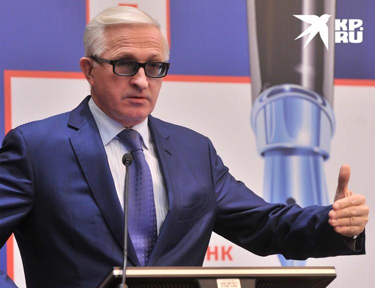 Председатель Российского союза промышленников и предпринимателей Александр Шохин.
