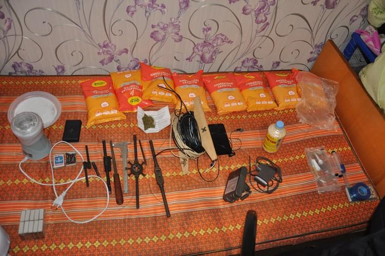 На съемной квартире было все, что нужно для изготовления взрывного устройства