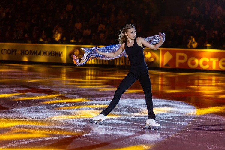 Майя Хромых – одна из самых юных участниц чемпионата страны.