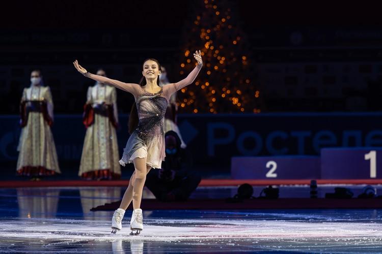 Анна Щербакова – трехкратная чемпионка России.