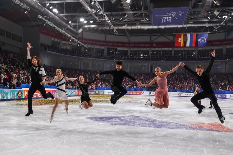 В сентябре 2021 года в Челябинск снова приедут лучшие фигуристы России.