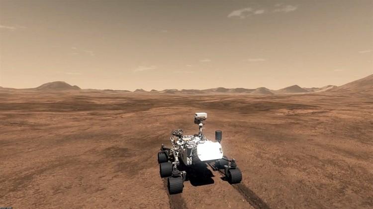 Ученые шутят, что Марс - единственная планета Солнечной системе, которая населена роботами