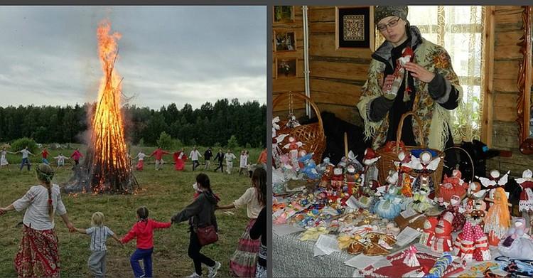 """...Можно поучаствовать в традиционных обрядах.Фото с сайта БООО """"Отдых в деревне""""."""