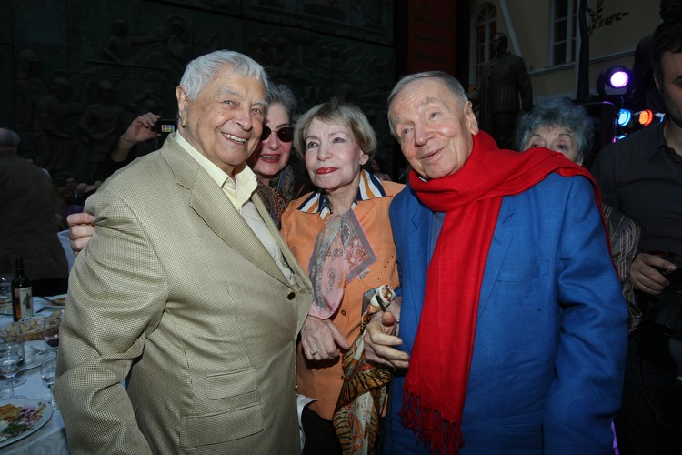 Брак Зои Богуславской и Андрея Вознесенского (справа) продлился 46 лет, вплоть до его смерти