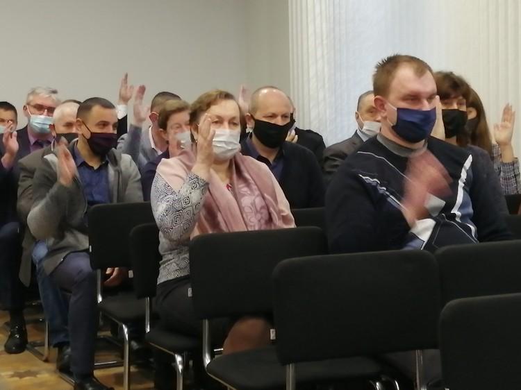 Так выбирали делегатов в Дрогичине. Фото: drogichin.by