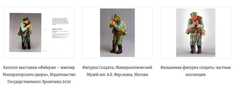 Со слов коллекционера, в музее представлены дешевые подделки Фаберже / Фото: Ruzhnikov