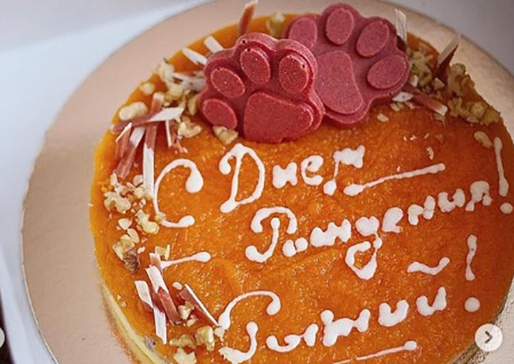 Такой тортик преподнесли Рыжему на юбилей.