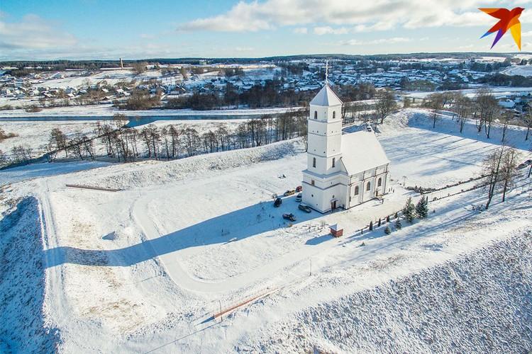 Спасо-Преображенская церковь в Заславле.