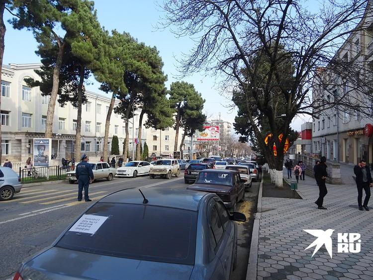 С приходом в Степанакерт русских город снова ожил