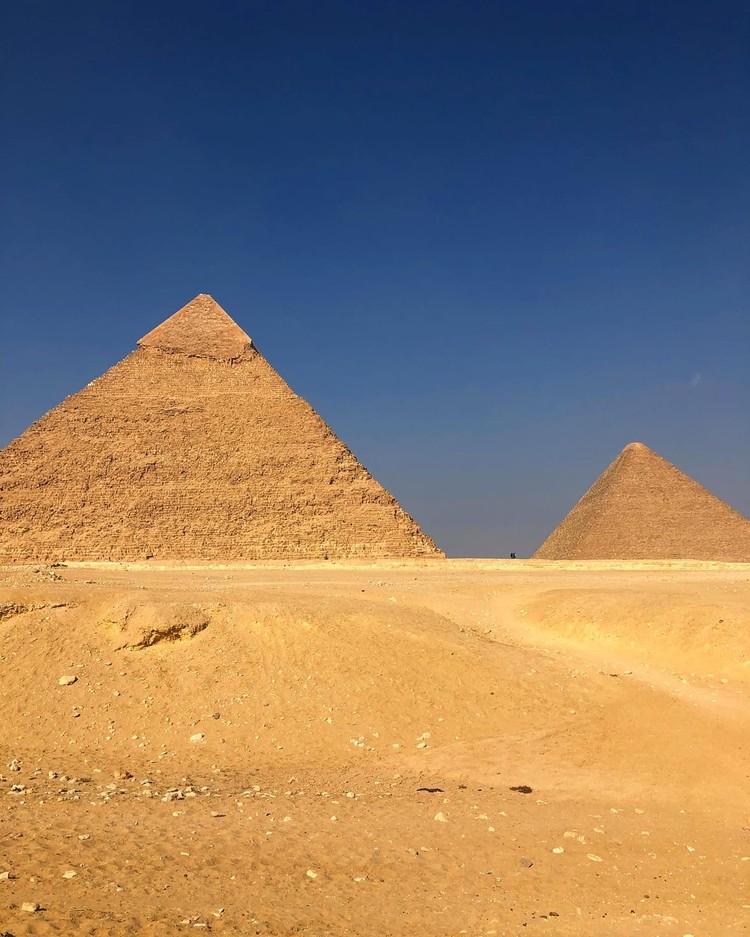 Увы, но пирамиды меня не впечатлили