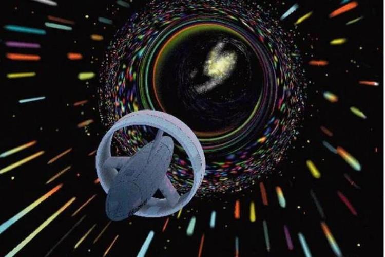 """Шансы добраться до других звездный систем дают только """"кротовые норы""""."""