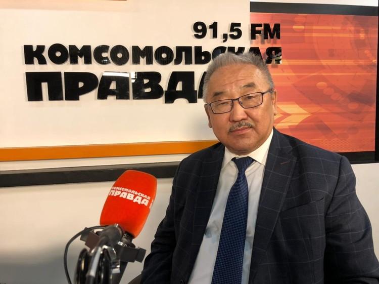 Виктор Мантыков, мэр Осинского района