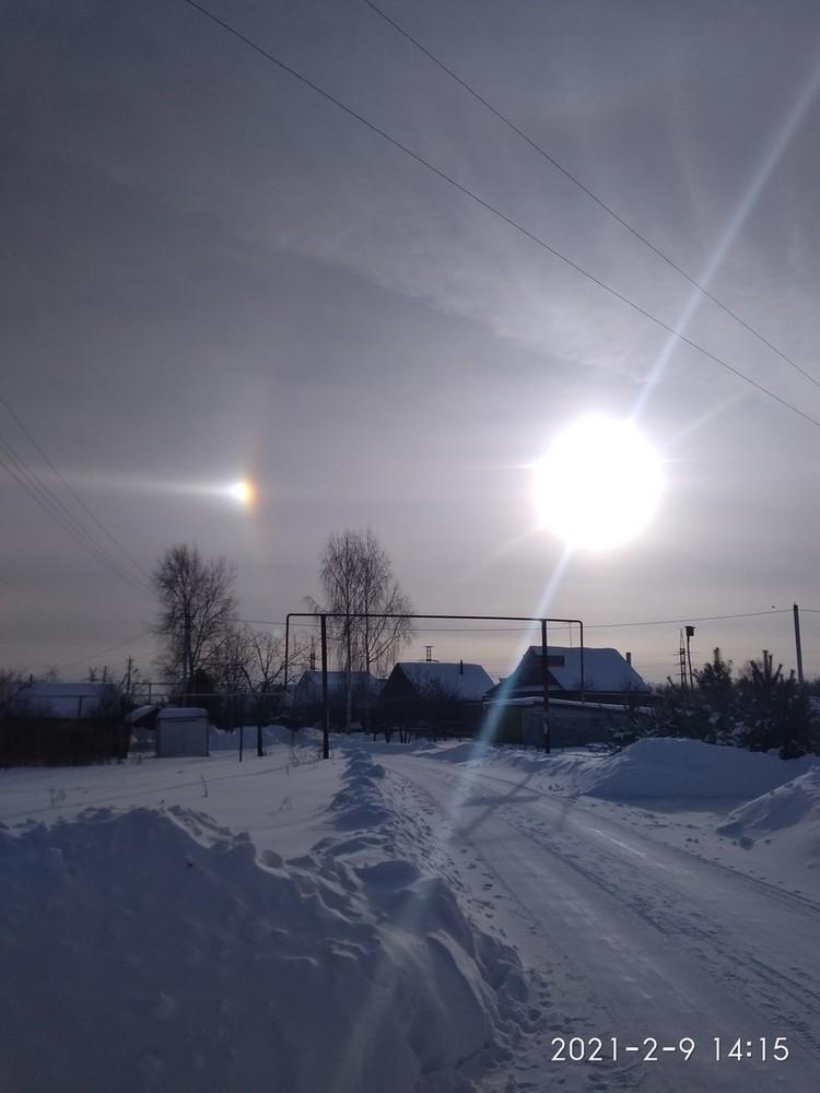 Необычное природное явление увидели десятки нижегородцев. Фото: Наташа Сидорова