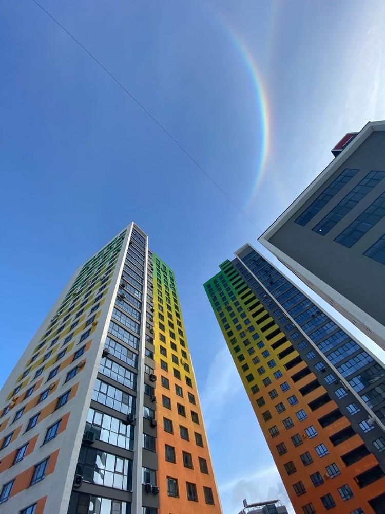 Гало - это явление очень похожее на радугу. Фото: Юлия Иванова