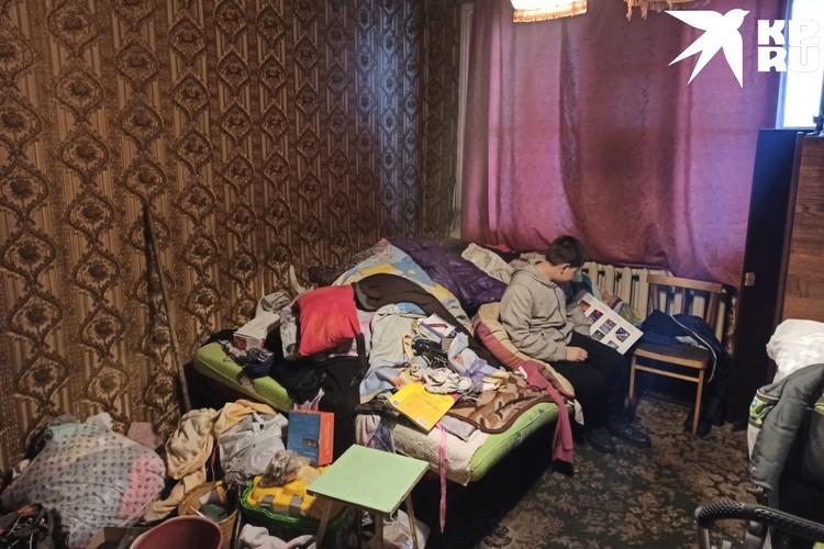 Опека дала семье две недели, чтобы сделать ремонт в детской.