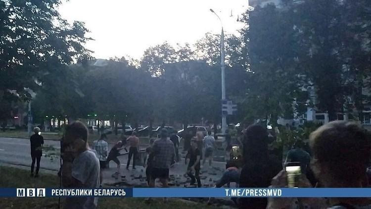 9-10 августа в Бресте милиция применяла спецсредства.