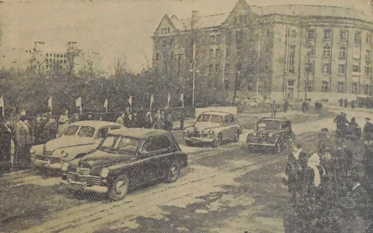 30 апреля 1952-го началось движение по новому путепроводу на улице Театральной в Калининграде.