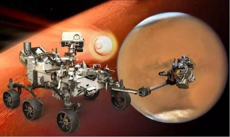 Так выглядит марсоход Perseverance (Настойчивость).
