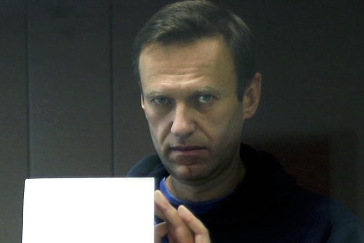 Алексей Навальный во время судебного заседания 16 февраля.