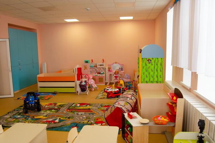 Одна из групп обновленного детского сада №1